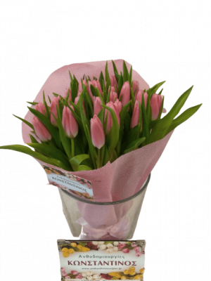 30 PINK TULIPS