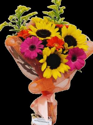Ανοιξιάτικο Μπουκέτο Λουλουδιών