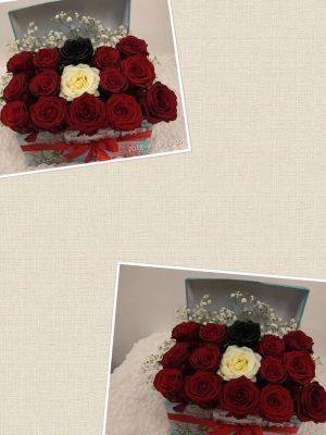 flowers in abox