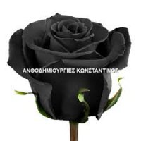black rose # anthopolio skg # delivery flowers thessaloniki