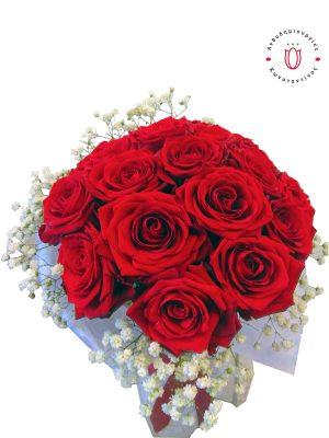 20 κόκκινα τριαντάφυλλα