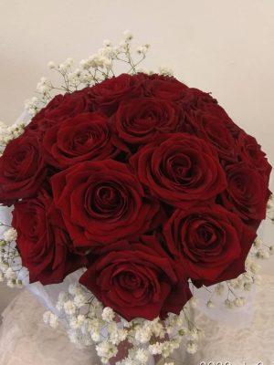 Ανθοδέσμη με 20 Κόκκινα Τριαντάφυλλα Θεσσαλονίκη | Online ανθοπωλείο ανθοδημιουργίες Τούμπα Θεσσαλονίκης