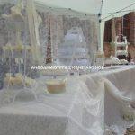 διακοσμηση γαμου με δαντελα