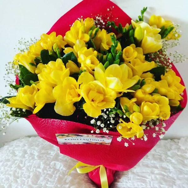 αρωματικό λουλούδι φρέζα σε ανθοδέσμη