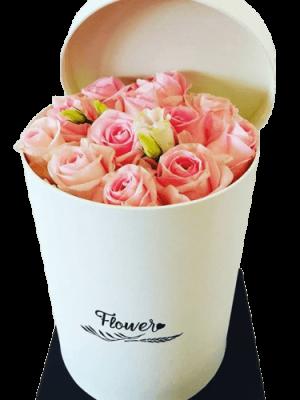 Ροζ Τριαντάφυλλα σε Κούτι στη Θεσσαλονίκη! Αυθημερόν delivery στη Θεσσαλονίκη! Online ανθοπωλείο ανθοδημιουργίες, Τούμπα Θεσσαλονίκη