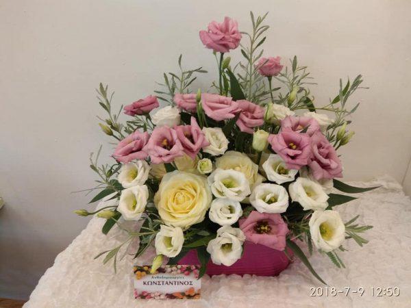 συνθέσεις με ποικιλία λουλουδιών