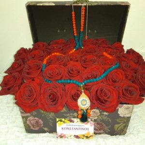 BOX WITH FOREVER ROSES