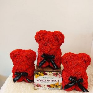 ROSE BEAR RED