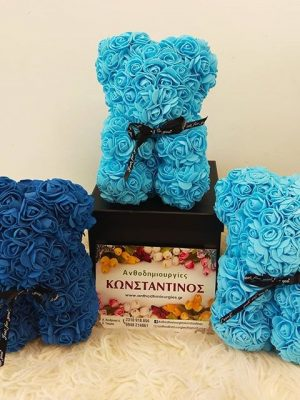 ROSE BEAR LIGHT BLUE