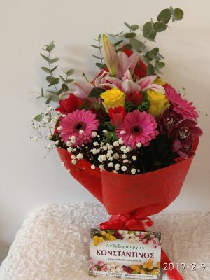 flowers to thessaloniki