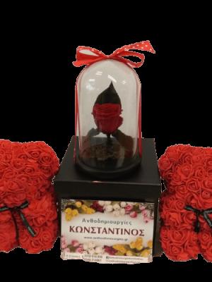 LUXURY GIFTS | Forever Roses Ανθοπωλείο Ανθοδημιουργίες Τούμπα Θεσσαλονίκη