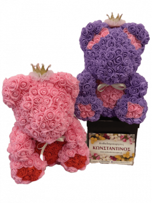 COLURFUL ROSE BEARS