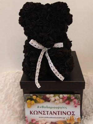 black forever rose Θεσσαλονίκη | Online ανθοπωλείο ανθοδημιουργίες Τούμπα Θεσσαλονίκης