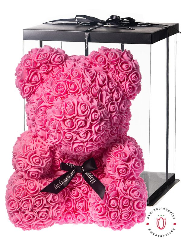 ROSE BEAR PINK WITH GIFT BOX