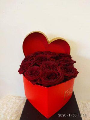 RED ROSES IN A BOX Θεσσαλονίκη | Online ανθοπωλείο ανθοδημιουργίες Τούμπα Θεσσαλονίκης