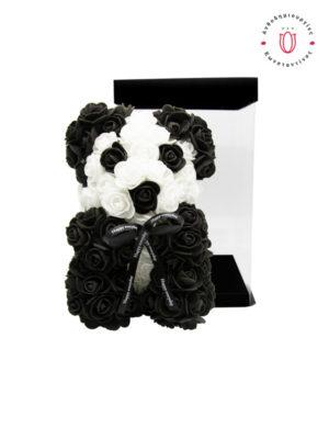 Αρκουδάκι Panda σε Κουτί Δώρου Θεσσαλονίκη | ανθοπωλείο Ανθοδημιουργίες Τούμπα Θεσσαλονίκη