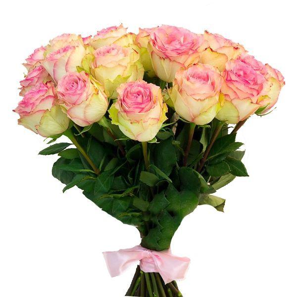 Ανθοδέσμη με 21 Τριαντάφυλλα Ροζ Θεσσαλονίκη | Ανθοπωλείο θεσσαλονίκης
