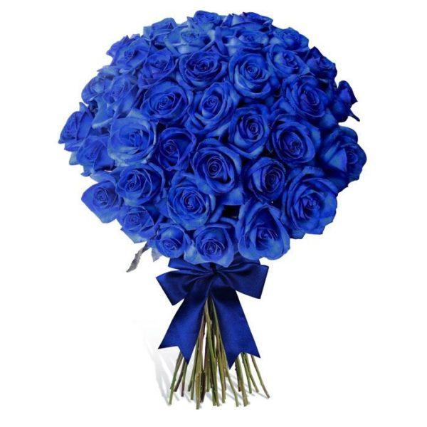 Ανθοδέσμη με 51 Μπλέ Τριαντάφυλλα Θεσσαλονίκη | ανθοπωλείο Θεσσαλονίκη ανθοδημιουργίες